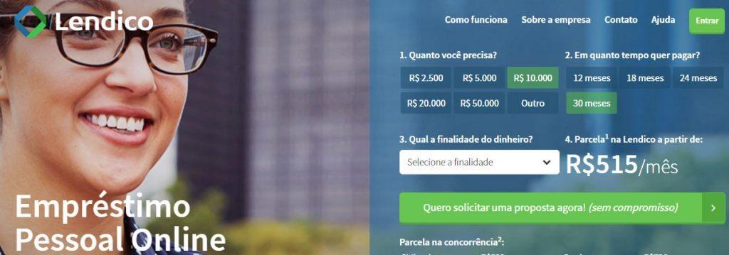 Empréstimo Online na Lendico