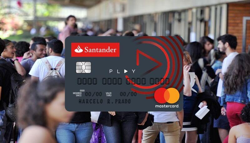 Cartão Santander Play - Solicite Já!