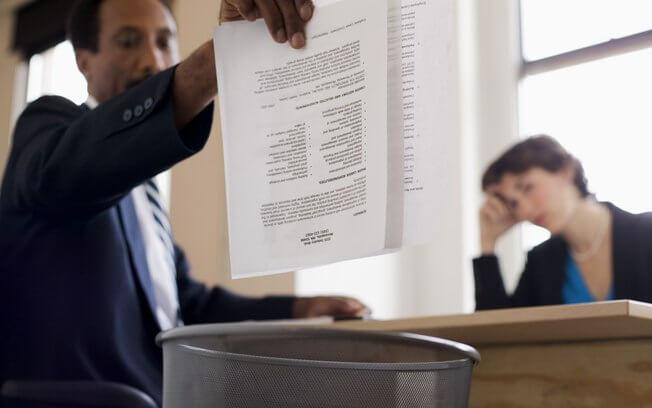 3 frases para nunca falar na entrevista de emprego