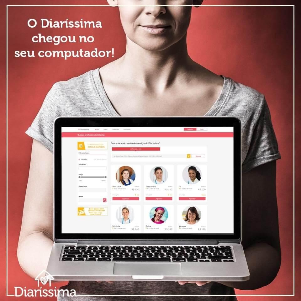Aplicativo ajuda diaristas a encontrar oportunidades de trabalho em todo país