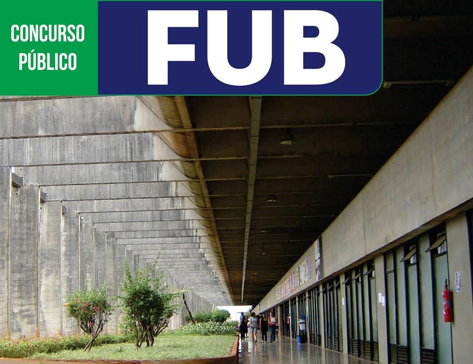 Concurso Público da FUB – provas e inscrição!
