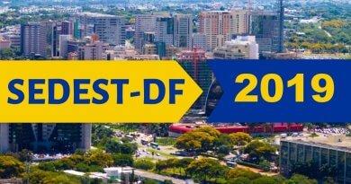 Concurso Sedest DF 2019 com mais de 1,8 mil vagas – inscrição online!