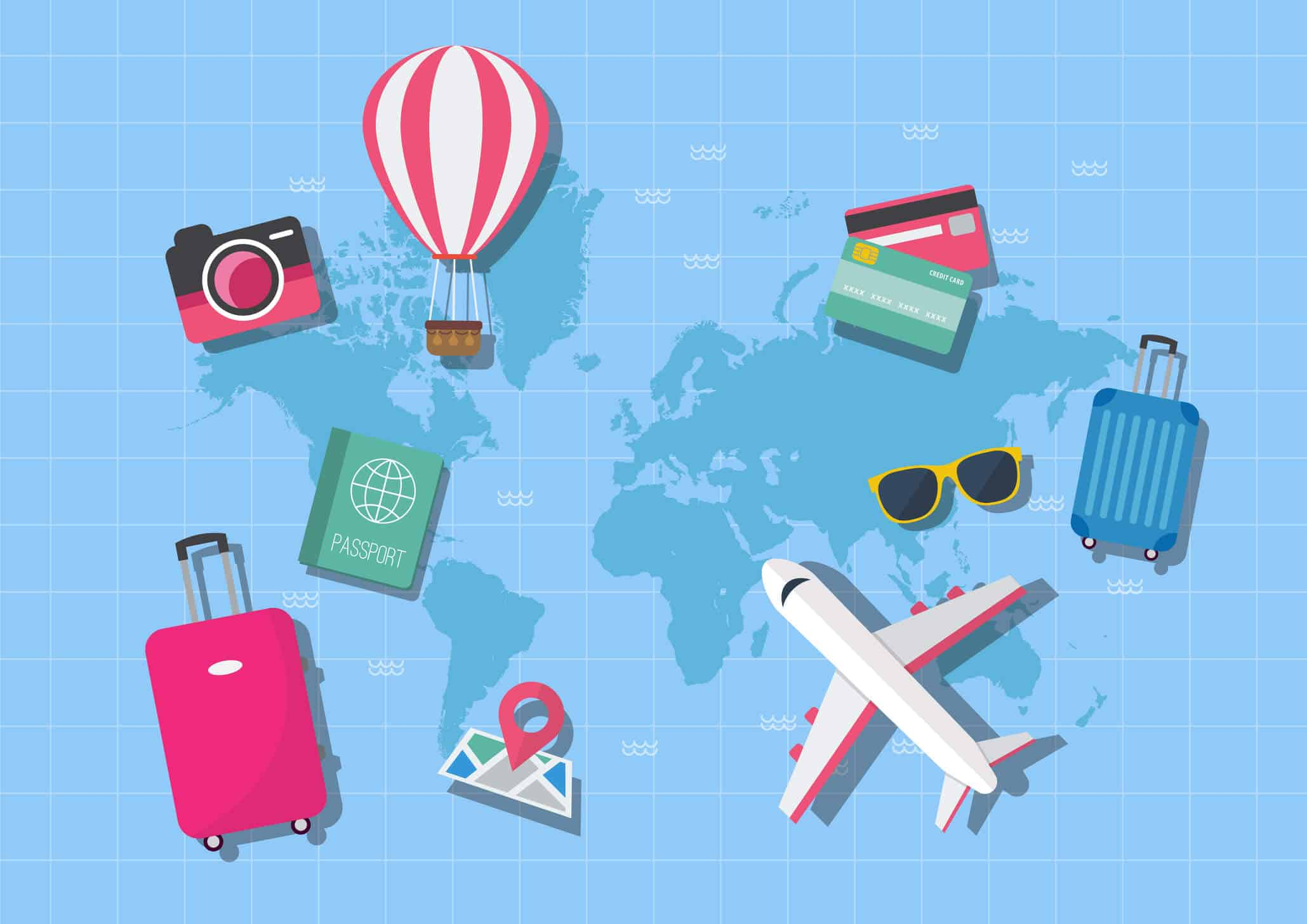 Saiba como criar um orçamento para viajar ganhando pouco no mês