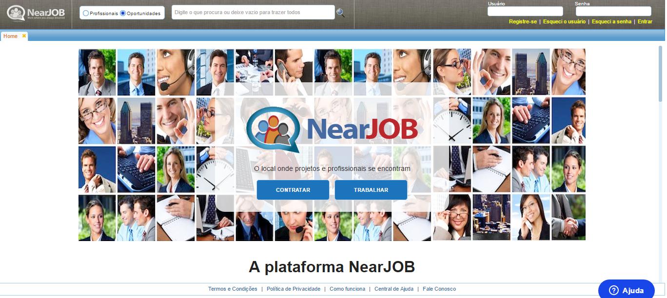 Saiba o que é o Near Job, plataforma para freelancers do Brasil