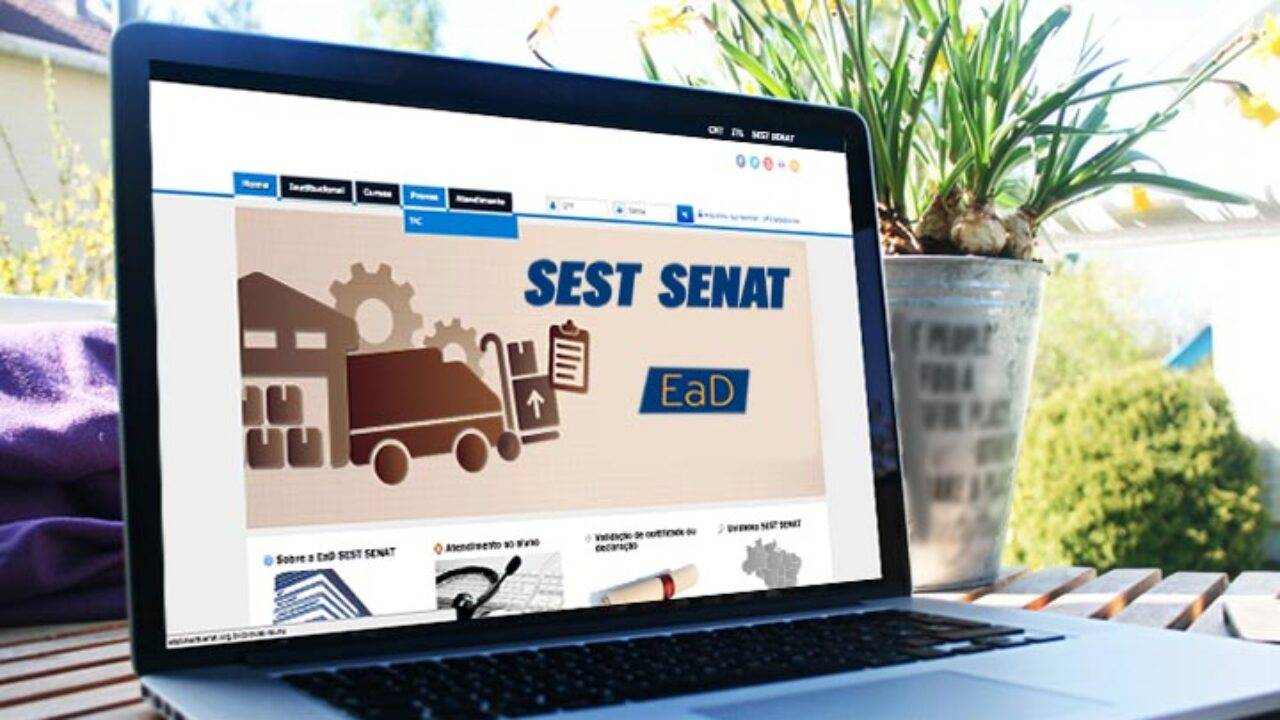 Plataforma digital do Sest Senat disponibiliza cursos gratuitos durante quarentena