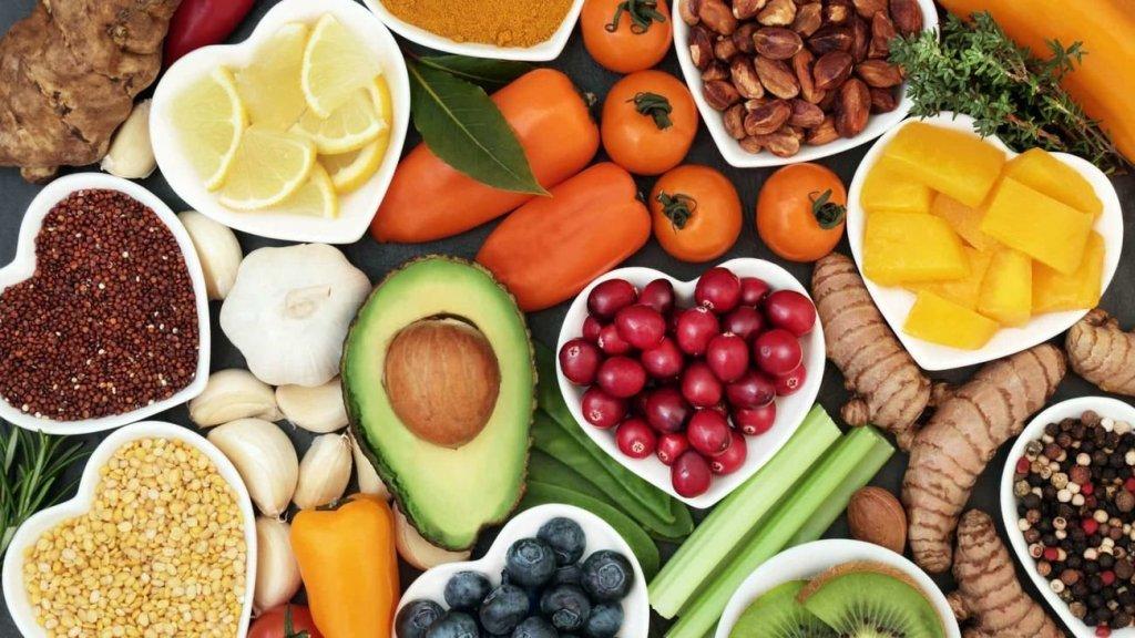 mercado da alimentação vegetariana